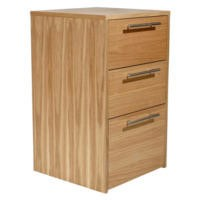 Alphason Designs Oakwood 3 Drawer Chest