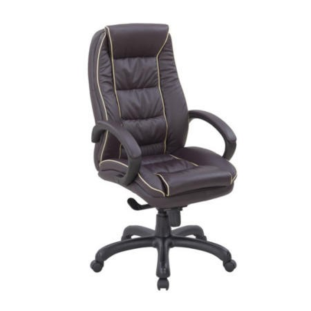 Eliza Tinsley Franklin Swivel Leather Faced Managers Chair