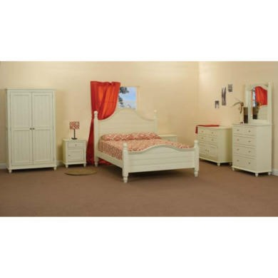 Sweet Dreams Rosalie Solid Pine Bedroom Furniture Set - with double bed