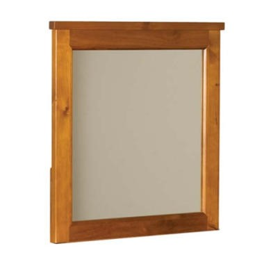 FOL062651 Sweet Dreams Haiben Solid Pine Vanity Mirror