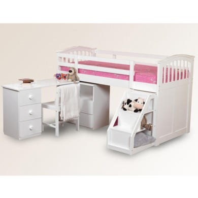 Sweet Dreams Robin Kids Midsleeper Bed