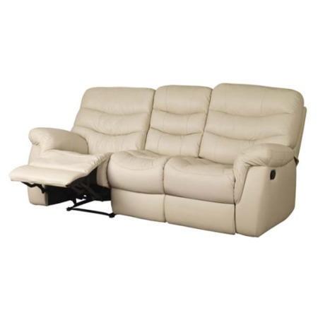 Sweet Dreams Ayla 3 Seater Recliner Sofa Cream Furniture123