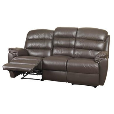 Sweet Dreams Dion 3 Seater Recliner Sofa - cream