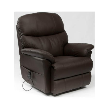 Restwell Lars Leather Faced Electric Recliner Armchair