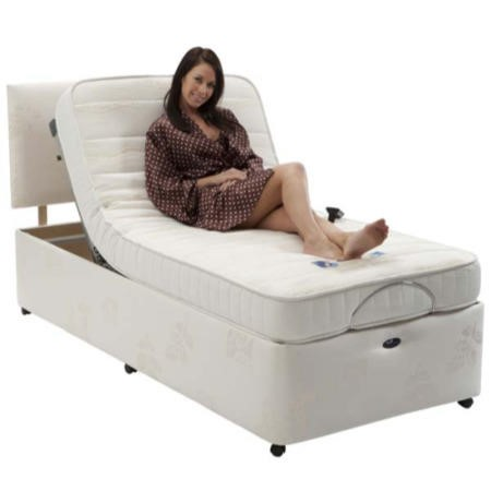 Restwell Richmond Single Adjustable Bed Set Without