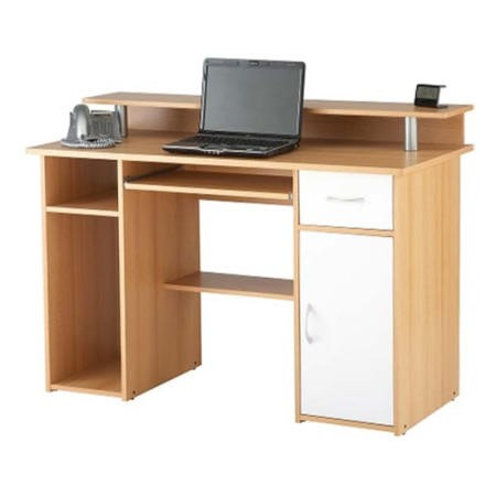 Alphason Designs Albany Desk in Beech