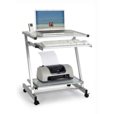 Glide Narrow Computer Desk | Furniture123
