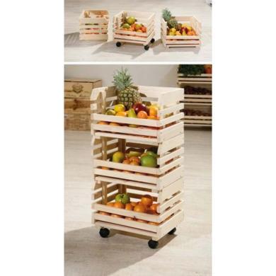 Interlink Minya Small Fruit And Vegetable Storage Rack