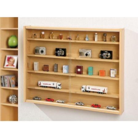 Interlink Adie Wall Mounted Display Cabinet Furniture123