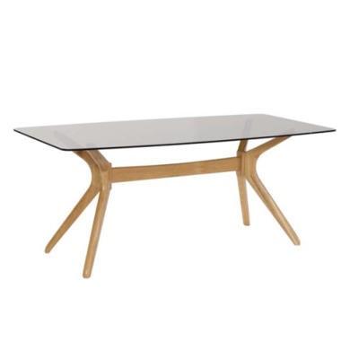 LPD Portofino Solid Oak Rectangular Dining Table with