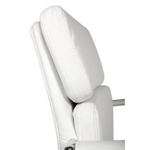 Teknik Office Miller White Visitors Chair