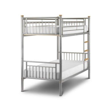 Julian Bowen Atlas Kids Metal Bunk Bed