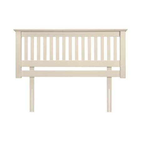 Julian Bowen Barcelona Solid Pine Headboard in White - single