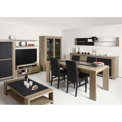 toka 6 piece living and dining room furniture set furniture123