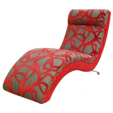 Buoyant Upholstery Bliss Chaise Longue in Red