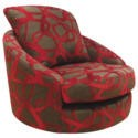 FOL066744 Buoyant Upholstery Blinx Swivel Chair in Red