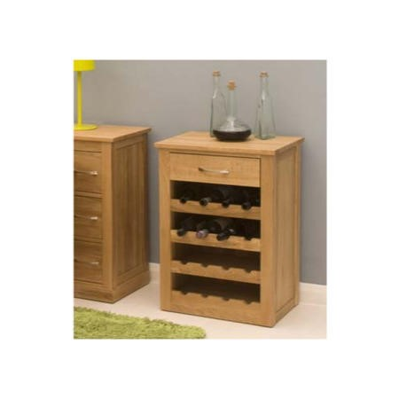 Baumhaus Mobel Solid Oak Wine Rack