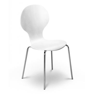 Julian Bowen Keeler Chair in White