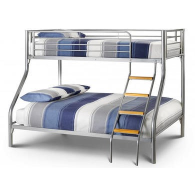 Julian Bowen Atlas Kids Metal Triple Sleeper Bunk Bed