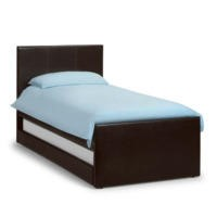 Julian Bowen Cosmo Upholstered Trundle Guest Bed Frame