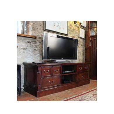 Baumhaus La Roque Solid Mahogany DVD Storage Widescreen TV Cabinet