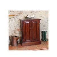 Baumhaus La Roque Solid Mahogany Shoe Cabinet - 12 Pairs