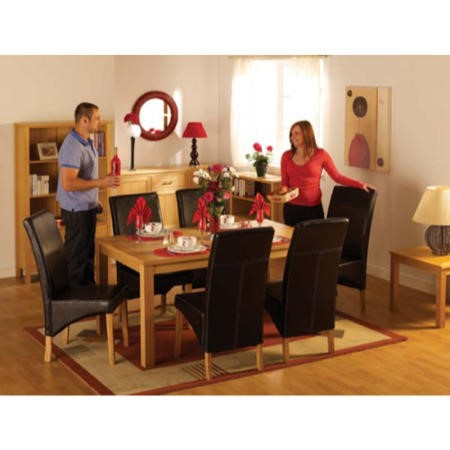 seconique belgravia and oakleigh dining room set with brown chairs rh furniture123 co uk Dining Table Set for 4 Dining Set for 4