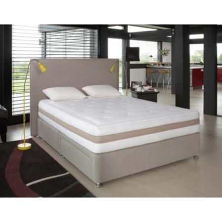 Relyon memory definition pocket 1200 divan and mattress for Definition divan