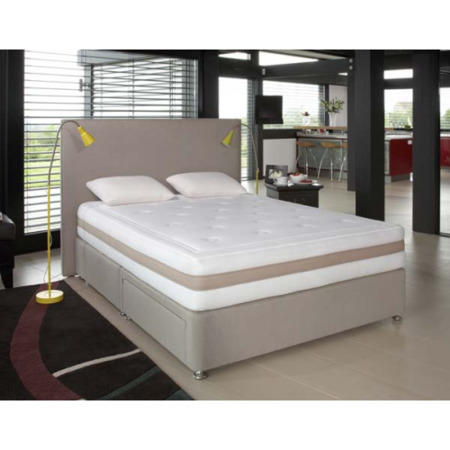 Relyon Memory Definition Pocket 1200 Divan And Mattress Kingsize Furniture123