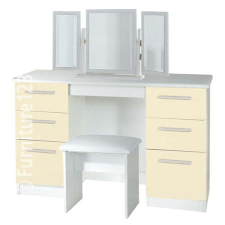 Welcome Furniture Hatherley High Gloss Large Dressing