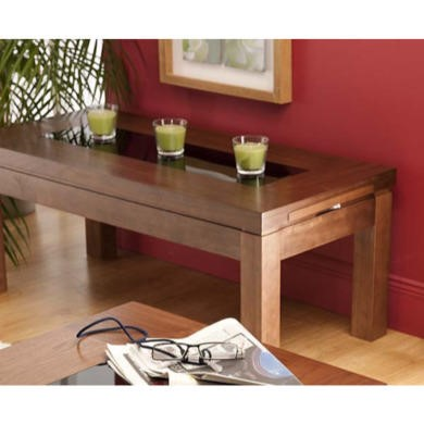 World Furniture Nevada Rectangular Coffee Table in Walnut