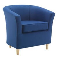 Icon Designs St Ives Tub Chair in Blue