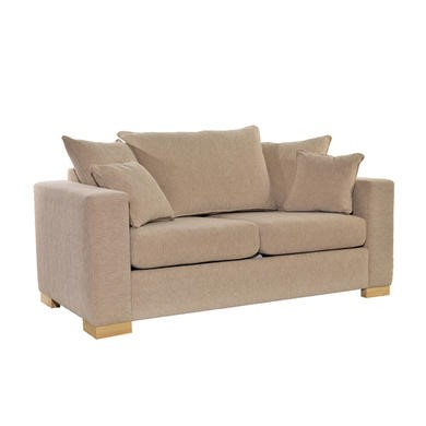 Icon Designs St Ives Madrid Scatter Back 2 Seater Sofa Bed in Beige