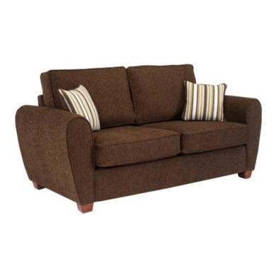Icon Designs St Ives Paris 2 Seater Sofa Bed in Brown