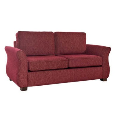 Icon Designs St Ives Roma 2 Seater Sofa Bed in Wine