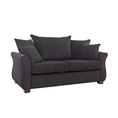 Icon Designs St Ives Vienna 2 Seater Scatter Back Sofa Bed in Mazurka Black