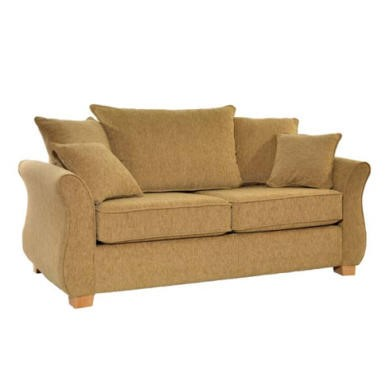 Icon Designs St Ives Vienna 2 Seater Scatter Back Sofa Bed in Pistachio