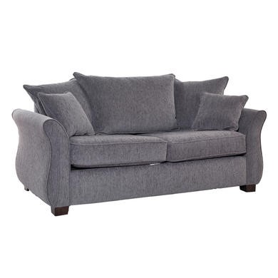 Icon Designs St Ives Vienna 2 Seater Scatter Back Sofa Bed in Mazurka Grey