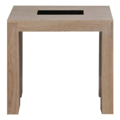Zone Safara Solid Wood Side Table