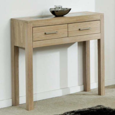 Zone Safara Solid Wood Console Table