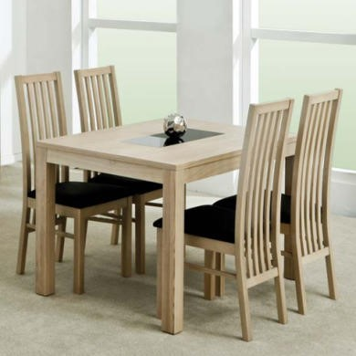 Zone Safara Solid Wood Rectangular Dining Table