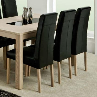 FOL071483 Zone Safara Solid Wood Upholstered Dining Chair