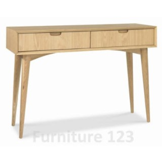 Orbit 2 drawer console table furniture123 - Console table extensible ikea ...
