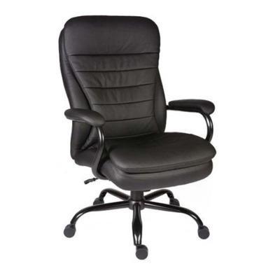 Teknik Office Hercules Heavy Duty Leather Faced Executive Chair