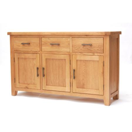 efb79c1ff41d9 Furniture Link Hampshire Oak Large Sideboard FOL072902