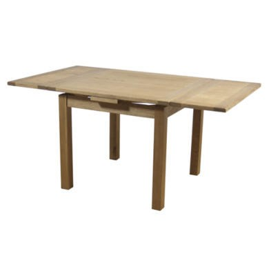 Link Hampshire Oak Square Extending Dining Table Furniture123