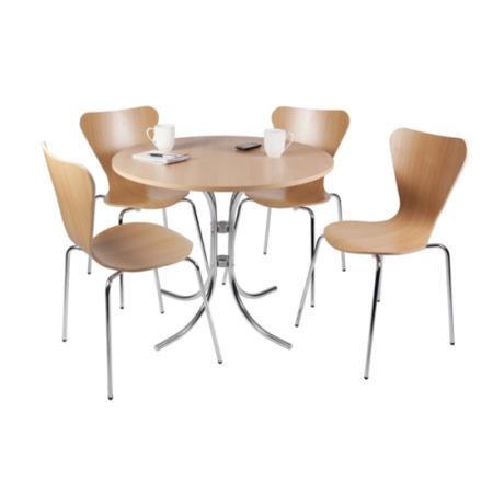 Teknik Office Bella Bistro Round Dining Set Furniture123