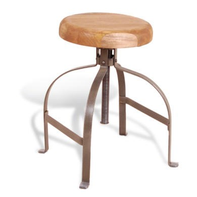 FOL073190 Signature North Industrial Screw Stool