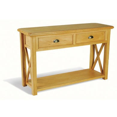 Savoy Oak Console Table