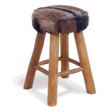 FOL073238 Signature North Bazaar Rawhide Medium Bar Stool
